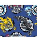 Transformers Movie Fleece Fabric 59\u0027\u0027-Autobots Vs Megatron