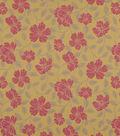 Home Decor 8\u0022x8\u0022 Fabric Swatch-Hibiscus Bloom Berry
