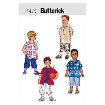 Butterick Child Activewear-B3475