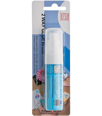 Zig 2-Way Glue Pen Carded-Jumbo Tip