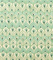 "Alexander Henry Cotton Fabric 44""-El Pavo Real Tea Celadon, , hi-res"