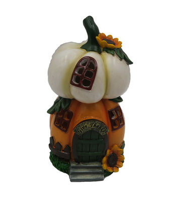 Fall Into Color Littles Stacked Pumpkin LED House