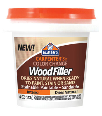 Elmer's Color Change Wood Filler 4oz-Natural