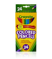 Crayola Colored Pencils-24PK/Long, , hi-res