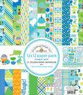 Doodlebug Double-Sided Paper Pack 12\u0022X12\u0022-Dragon Tails