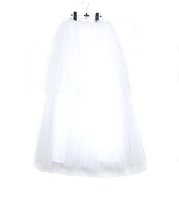 Maker's Halloween Adult Long Tutu-White