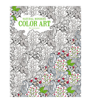 Adult Coloring Book-Leisure ArtsNatural Wonders