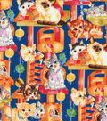 Novelty Cotton Fabric 44\u0027\u0027-Kittens At Play