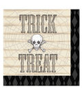 Skull Halloween 2ply Beverage Napkin