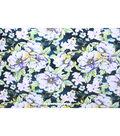 No-Sew Throw Fleece Fabric 72\u0022-Vintage Floral