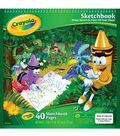 Crayola Sketchbook 9\u0022X9\u0022-40 Sheets/Pkg