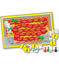 Math Learning Games Board Game- Grade 2