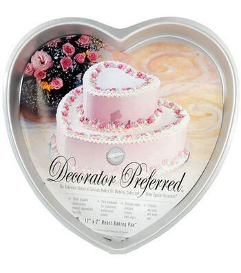"Wilton® Decorator Preferred 12"" Heart Pan"