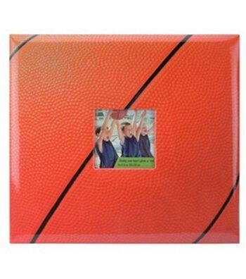 "Basketball 12""x12"" Postbound Album"