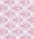 Quilter\u0027s Showcase™ Cotton Fabric 44\u0022-Opera Mauve Damask