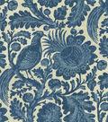 Waverly Sun N Shade Upholstery Fabric-Tucker Resist Chambray