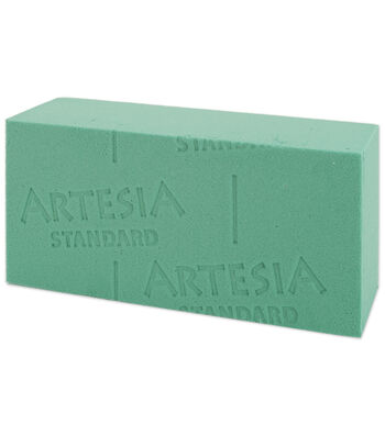 """Artesia Wet Foam Block Bulk-3""""X4""""X9"""""""