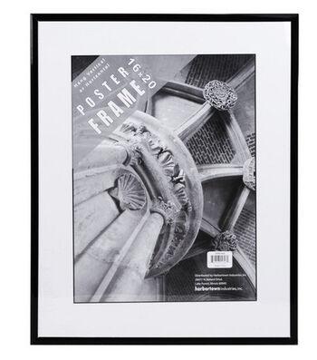 Mylar Frame 16x20-Black/Clear