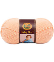 Lion Brand Baby Soft Yarn, , hi-res