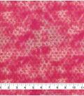 Keepsake Calico Cotton Fabric 43\u0022-Pink Purple Tie Dye Blender