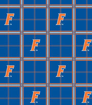 "University of Florida Gators Flannel Fabric 42""-Plaid, , hi-res"