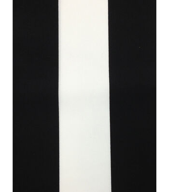 "Outdoor Fabric 54""-Baja Stripe Black"