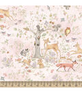 Susan Winget Cotton Fabric 43\u0027\u0027-Woodland Buddies