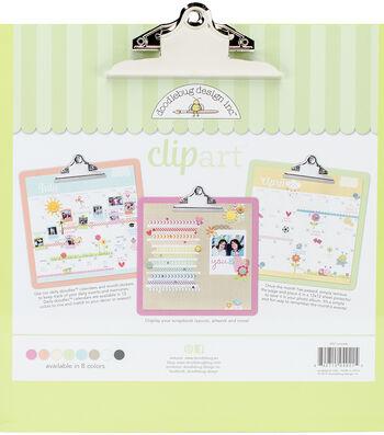 Doodlebug Clipart Monochromatic Clipboard