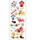EK Success Classic Puffy Stickers-A Dog\u0027s Life
