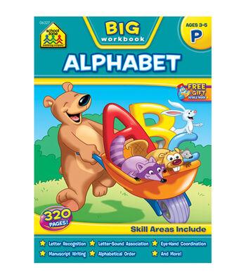 School Zone Big Workbook-Alphabet