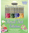 Sullivans Floral Fest 12pcs Size 5 Pearl Cotton Thread 15 yds