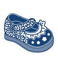 Tattered Lace Metal Die-Baby Girl Shoe