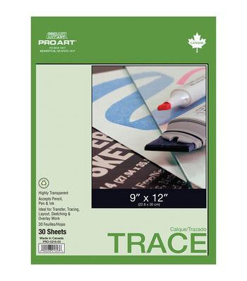 Pro Art Advantage 30pcs 9''x12'' Tracing Pad
