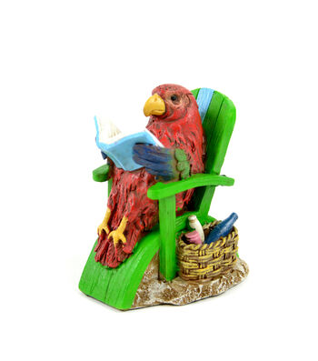 Bloom Room Littles Resin Parrot in Chair