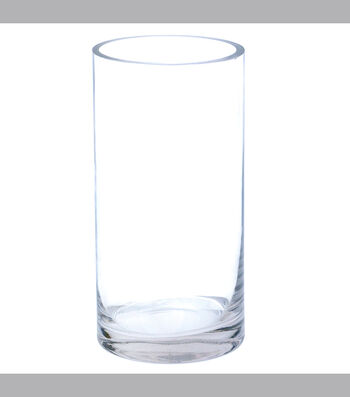 """5""""x 20"""" Clear Glass Cylinder"""
