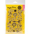 Waffle Flower Crafts 19 pk Clear Stamps 4\u0027\u0027x6\u0027\u0027-Hooray