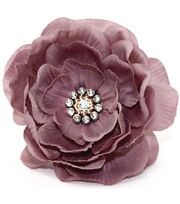 Laliberi Quick Clip Flowers 1/Pkg-Dusty Pink Layered, , hi-res