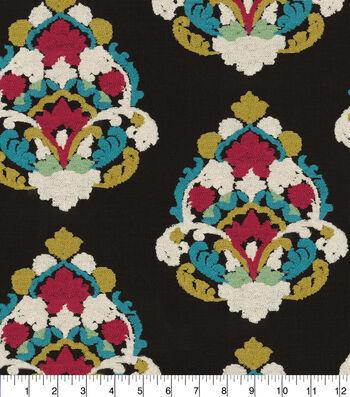 "Waverly Upholstery Fabric 55""-Folk Lure Emb Fiesta"