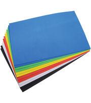 "Darice Foamies Foam Sheets 12""x18"" 12/Pkg-Basic Colors, , hi-res"