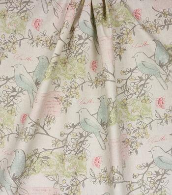 Home Essentials™ Print Fabric 45''-Cream Lilah