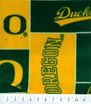 "University of Oregon Ducks Fleece Fabric 58""-Block, , hi-res"