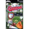 Reminisce Real Sports Dimensional Stickers Baseball