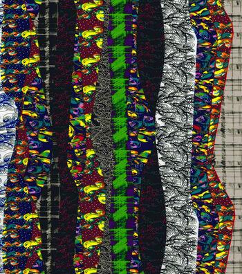 "Nicole Miller Twill Fabric 57""-Black"