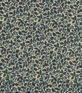 Vintage Cotton Fabric 43\u0022-Packed Vines Blue