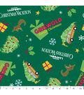 Christmas Cotton Fabric 43\u0022-Griswold Family Christmas