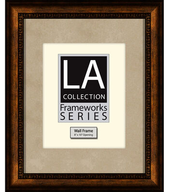 LA Collection Wall Frame 11X14-Gold