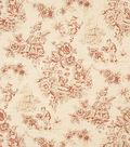 Home Decor 8\u0022x8\u0022 Fabric Swatch-Jaclyn Smith Alyssa-Crimson