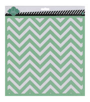 "Heidi Swapp Mixed Media Stencil 12""X12""-Chevron, , hi-res"