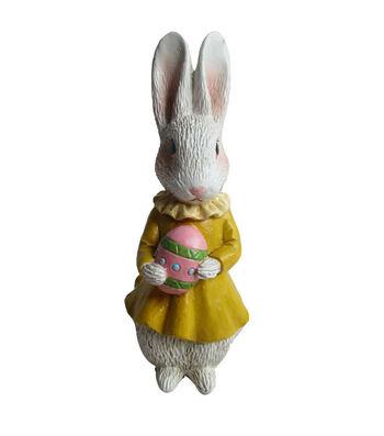 Littles Resin Bunny In Yellow Dress