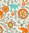 P/K Lifestyles Outdoor Fabric 54\u0022-Menagerie/Cayenne